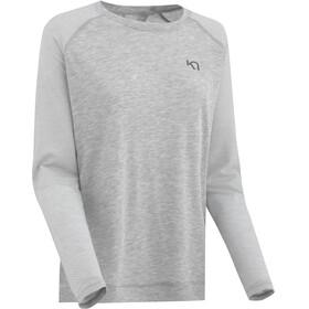 Kari Traa Isabelle - T-shirt manches longues Femme - gris